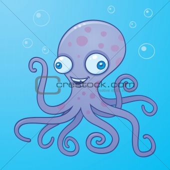 Wacky Happy Octopus