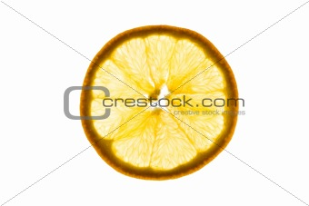 Slice of an orange