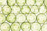 Pattern of cucumber slices