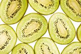 Pattern of kiwi slices