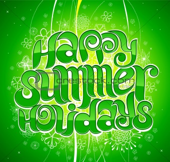 Image 1745115 Happy Summer Holidays From Crestock Stock Photos