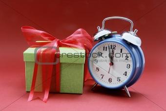 Alarm Clock and Gift Box