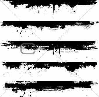 Grunge detail for borders