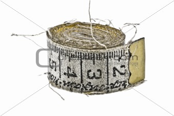 Old measuring tape