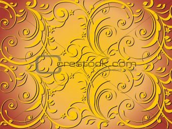 abstract swirl design background