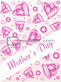 artistic pink love background