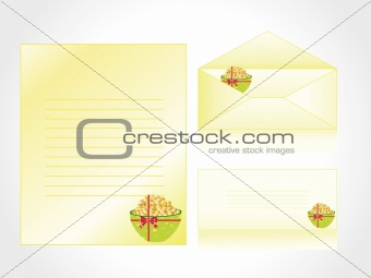 postcard, envelop for celebration