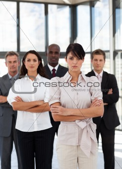 Potrait of a multi-racial Business Group