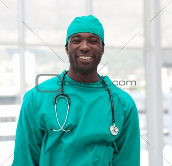 Male Surgeon in a hospital