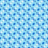 blue repeating pattern