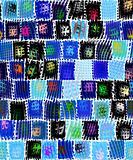 grunge festive pattern