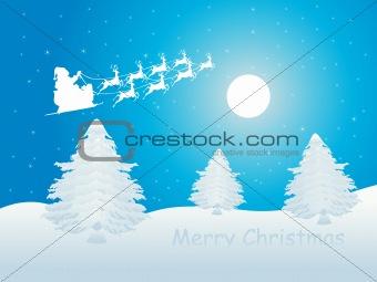 blue merry christmas wallpaper