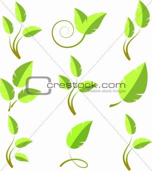 Branch icon set