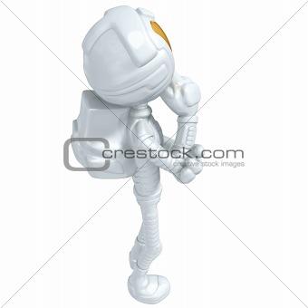 3D Astronaut