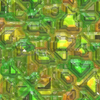 Abstract tech background