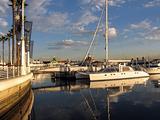 Rainbow Harbor at Dusk