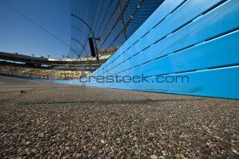 A turn on a racetrack