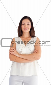Beautifull well dressed woman