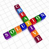 color creative solution like crossword