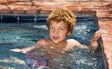 Boy in a Pool