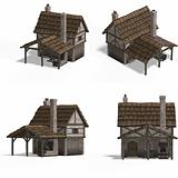 Medieval Houses - Smithy