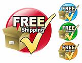 Free Shipping Circle