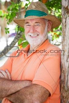 Portrait of Handsome Senior Man