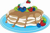 Pancakes Fruit