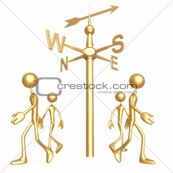 All Four Corners Weathervane