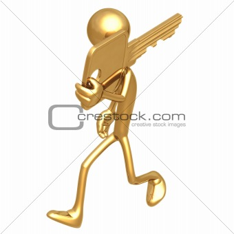 Carrying Gold Key