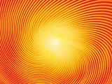 trendy sunburst, vector illustration