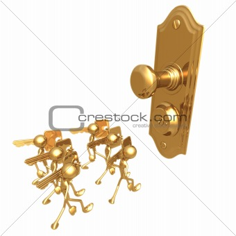One Door Lock Many Keys
