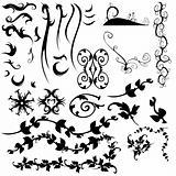graphic elements set
