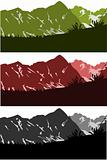 mountains skylines