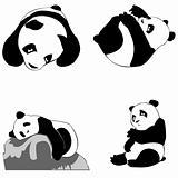 panda icons