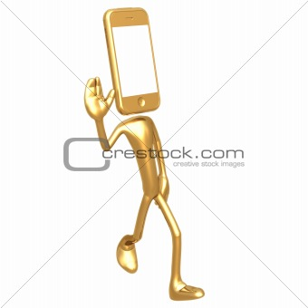 Touch Screen Cell Phone Waving