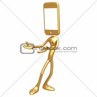 Touch Screen Cell Phone Presenter