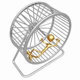 Collapsed Hamster Wheel Runner