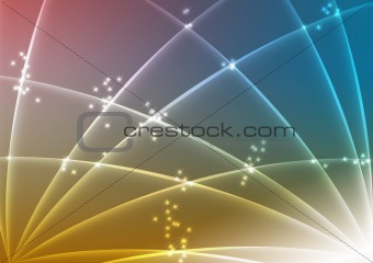 Abstract blue yellow red background texture