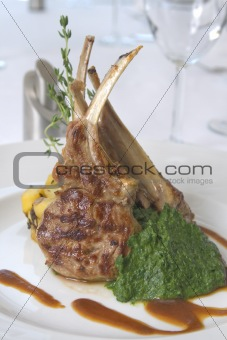 grilled cutlet