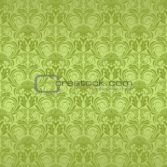 Green seamless wallpaper