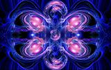 Dark blue is a red fractal
