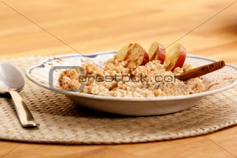 Apple Cinnamon Porridge