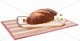 Bread on the cutting board