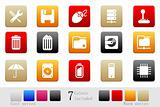 Computer and Data icons box series