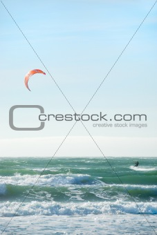 Kite Surfing in San Francisco