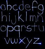 Neon Lowercase Alpabet