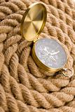 Compass on rope