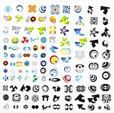 Set of 110 more logos