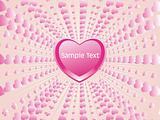 stylish pink macro frame background